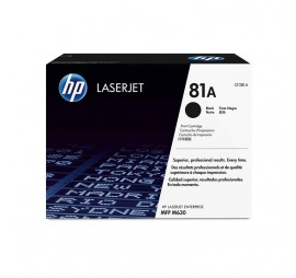 HP 81A Black Original LaserJet Toner Cartridge (CF281A)