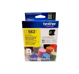Brother LC-563 Yellow Original Ink Cartridge
