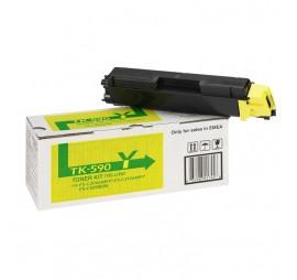 Kyocera TK-590 Yellow Original Toner Cartridge (TK-590Y)