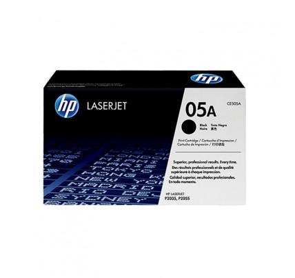 HP 05A Black Original LaserJet Toner Cartridge (CE505A)