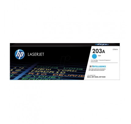 HP 203A Cyan Original LaserJet Toner Cartridge (CF541A)