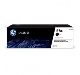 HP 56X Black High Yield Original LaserJet Toner Cartridge (CF256X)